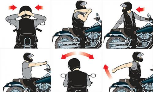 motorcycle pain tips