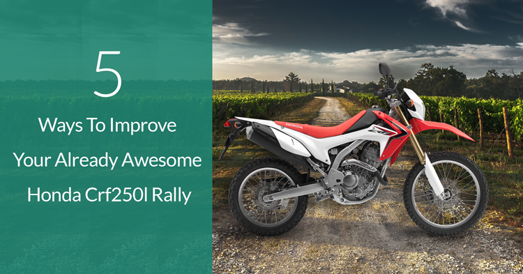 5 Ways To Improve Honda Crf250l Rally Bb Off Road Engineering