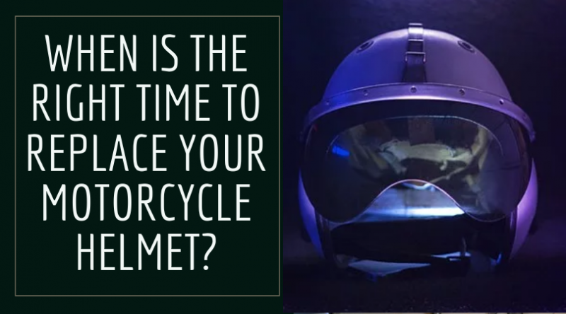 Right Time to Replace Your Motorcycle Helmet