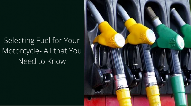 Selecting Fuel for Your Motorcycle